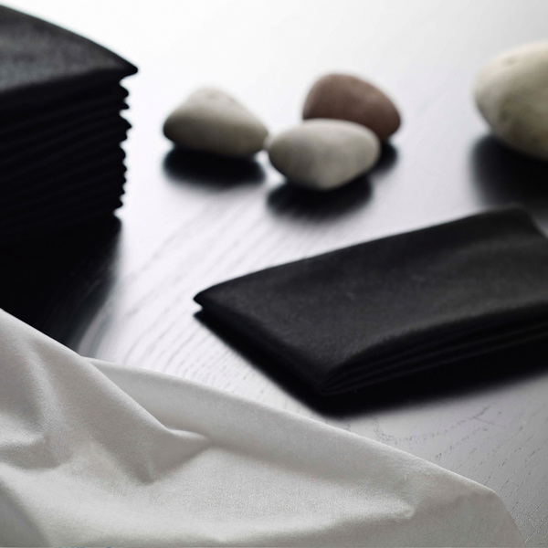 Easydry Black and White Hair Towels